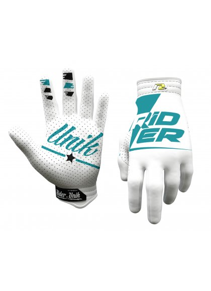 RIDERUNIKGLOVES RIDER WHITE